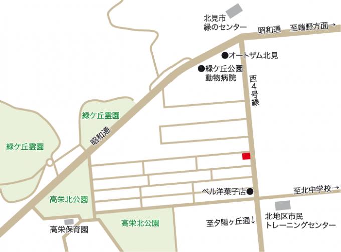 赤川邸地図