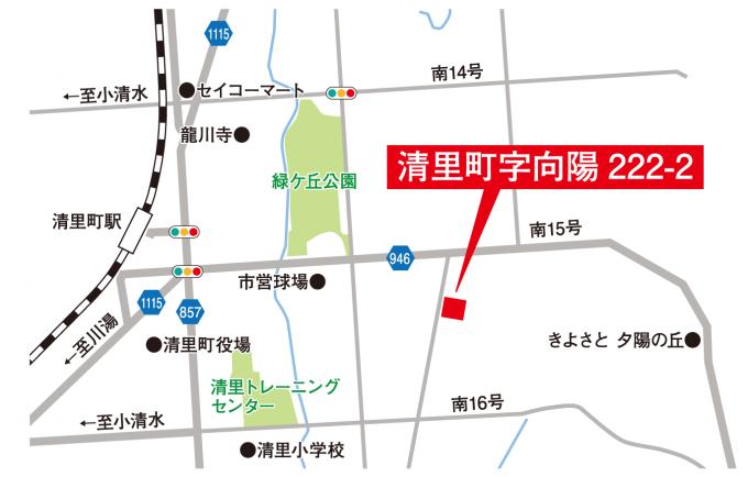 吉田邸地図